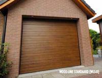Wood-Line afbeelding garagedeur